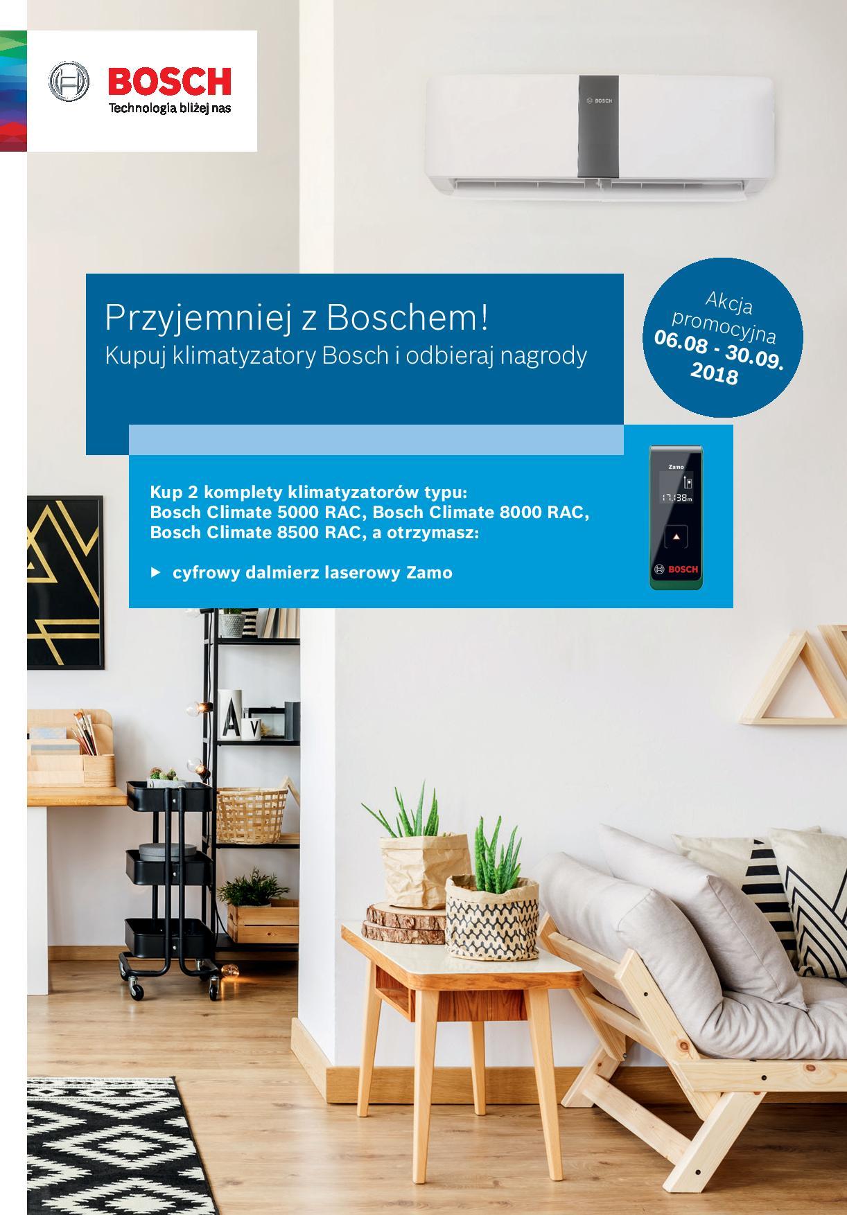 Nowa promocja na klimatyzatory RAC Bosch - Zamo