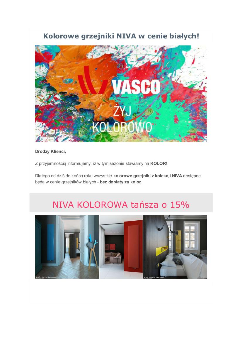 VASCO - żyj kolorowo!