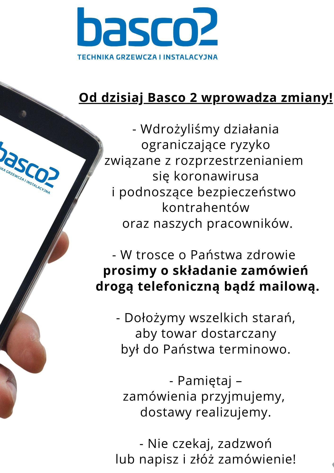 Basco 2 - zmiany